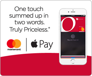 Overstock Apple Pay Mastercard
