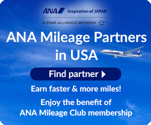 ANA Mileage Club Membership, ANA Card U.S.A.