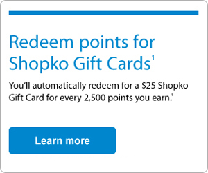 Shopko Visa Credit Card First Bankcard A Division Of First